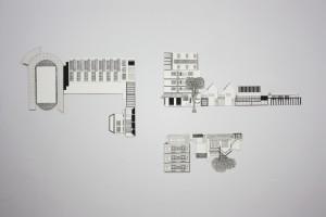 Monica Rizzolli, MAP, 2014, nanquim sobre papel, dimensões variáveis, AtelieColetivo2E1