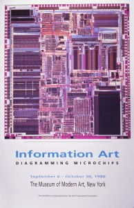 Diagramming Microchips - MOMA, 1990