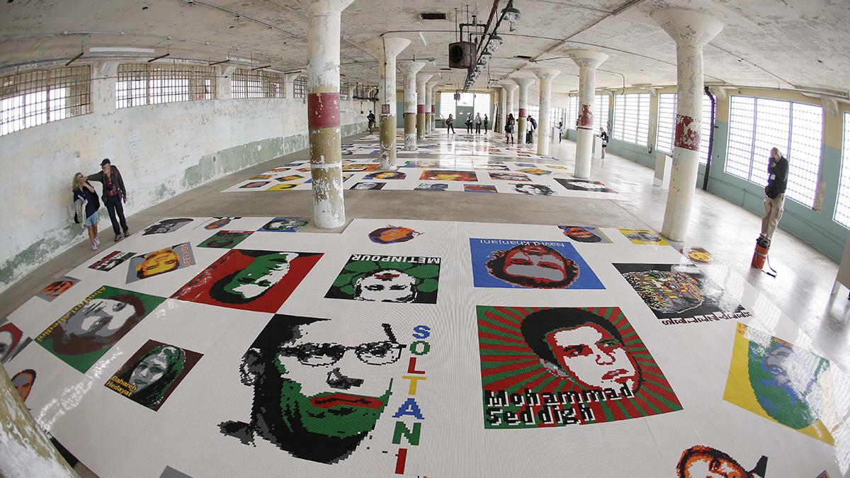 Alcatraz Chinese Artist Activist